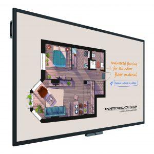 Das BenQ DuoBoard CP8601K ist Bildschirm, Whiteboard und Videokonferenzsystem in einem.