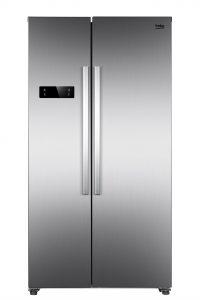 Dank seiner geringeren Tiefe von 59 Zentimeter fügt sich das Side-by-Side Modell GNO 4331 XP in die Küchenzeile ein.