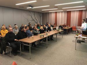 ElectronicPartner-GF Michael Hofer brachte den Mitglieder Neuigkeiten der Kooperation und aktuelle Entwicklungen am Markt näher.