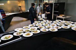 Das Taste Lab von Electrolux Professional im deutschen Rothenburg: Hier sollen sich Interessierte zukünftig über die Kochtechniken von Electrolux Professional informieren – in der Theorie und natürlich auch in der Praxis. (Bild: Electrolux Professional)