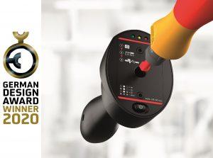 Der Wiha Torque QuickCheck wurde mit dem German Design Award 2020 als Winner seiner Kategorie ausgezeichnet. Er verspricht Anwendern mehr Sicherheit und Kontrolle bei Drehmoment-Verschraubungen.