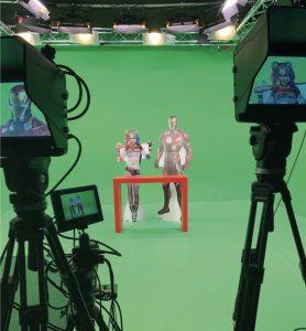 Die ETAS Sphere sind Film-, Video- und Streaming-Studios, die für unterschiedlichste Anwendungen gemietet werden können – stundenweise, halbtags oder tageweise, beginnend bei 50 Euro.