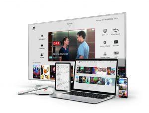 Aus A1 TV wird A1 Xplore TV. – A1 vereint dazu die beliebtesten TV-Inhalte und Streaming Dienste auf einer Plattform.