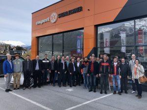 Mehr als 40 Experten und Expertinnen nahmen am fünften Expert-Installations-Worshop teil. Dieses Jahr fand die Veranstaltung bei Expert Steinlechner in Volders statt.