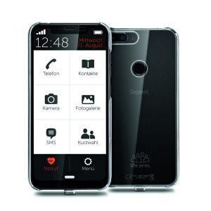 Mit dem GS195 LS bringt Gigaset erstmals ein Smartphone für Senioren. Dazu wartet das Modell mit einer vereinfachten Benutzeroberfläche auf.