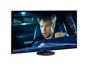 Panasonic begeistert mit neuen OLED-TV- und 4K-UHD-LCD-Serien, die das Hollywood-Feeling ins heimische Wohnzimmer holen – im Bild der OLED-TV HZW1004 mit drehbaren Standfuß.