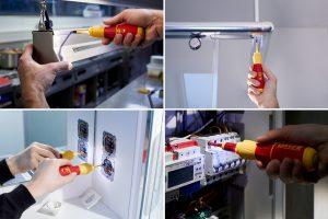 speedE II ermöglicht 3x schnelleres Arbeiten dank elektrischen Antrieb, schont die Gesundheit, schützt das Material und bieten vollen Spannungsschutz bis 1.000 V AC.
