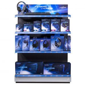 Für seine Gaming-Eigenmarke uRage bietet Hama nun umfassende POS-Unterstützung.