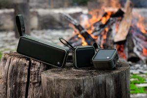 """Mit dem neuen Bluetooth-Lautsprecher """"Soldier"""" lässt Hama jedes Outdoorfan-Herz höher schlagen."""