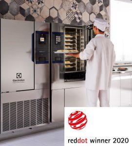 Ein Red Dot Award für Electrolux Professional: Der SkyLine Heißluftdämpfer übernimmt im Cook&Chill-Konzept von Electrolux Professional die Cook-Funktion, der SkyLine Schockkühler/Froster übernimmt den Chill-Prozess. Das Modul SkyDuo verbindet beide Geräte. (Bildquelle: Electrolux Professional)