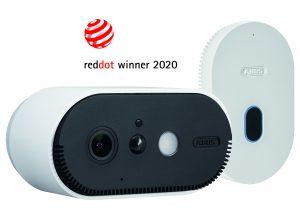 Die ABUS WLAN Akku Cam überzeugte die Red Dot-Expertenjury.