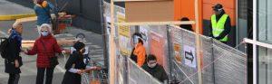Ab Dienstag nach Ostern ist ein Teil des Handels wieder geöffnet. WKÖ Handelsobmann Peter Buchmüller appelliert, beim Einkaufen im Geschäft die Vorsichtsmaßnahmen einhalten. (Bild: APA/ OTS)