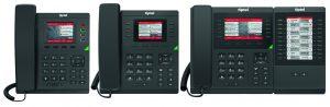 Mit der IP-Telefonserie 3300 bringen die Ratinger die optimale Ergänzung zu ihrer Telefonanlage tiptel 8010/8020 All-IP.