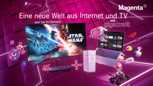 Der neue Spot von Magenta Telekom fokussiert sich vor allem auf den gestiegenen Bandbreitenbedarf, bei gleichzeitiger TV-Nutzung.