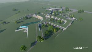 Der neue Loxone Campus soll Platz für bis zu 300 Arbeitsplätze bieten sowie ein Hotel integrieren. Vor allem wollen die Oberösterreicher hier allerdings ihre Idee von Gebäudeautomatisation erlebbar machen.