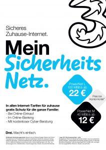 Den Online Shopping Schutz erhalten alle Neukunden, die ab heute. 28. Mai 2020, einen unlimitierten StartNet oder PowerNet-Tarif bei Drei aktivieren.