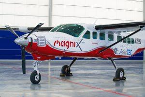 Zur eCessna umgebaut: Der US/australische-Motorenentwickler magniX hat mit dem Jungfernflug der modifizierten Cessna grand Caravan 208B einen weiteren Meilenstein auf dem Weg zur E-Luftfahrt erreicht.