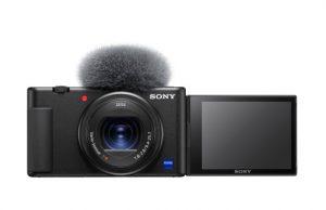 Mit der ZV-1 präsentiert Sony eine leichte Kompakt-Kamera die von Grund auf für Vlogger entwickelt wurde.