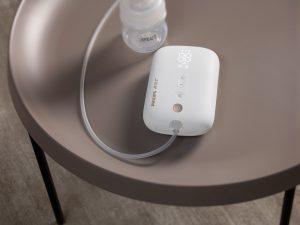 """Inspiriert von Babys Trinkverhalten: """"Unsere Avent Elektrische Milchpumpe ermöglicht einfaches und schnelles Abpumpen"""", so Philips."""