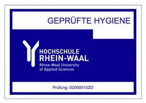 """Miele Waschmaschinen erhalten das Siegel """"Geprüfte Hygiene""""* durch die Hochschule Rhein-Waal. (Bild: Miele)"""
