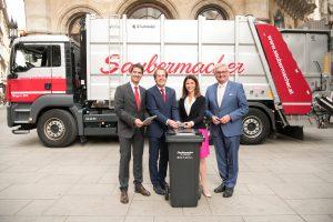 Magenta (bzw davor T-Mobile) testet seit 2018 die Lösung gemeinsam mit den heimischen Entsorgungs- und Recyclingunternehmen Saubermacher.