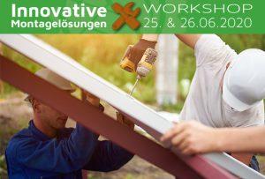 Beim Workshop Innovative Montagelösungen finden im Stationenbetrieb laufend Schulungen statt – so können sich die Teilnehmer effektiv informieren und sich ihre Zeit flexibel einteilen.