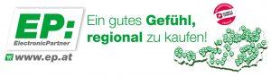 """Mit dem Kampagnen-Slogan """"EP:Ein gutes Gefühl, regional zu kaufen!"""" greift die Kooperation die Rückbesinnung auf lokale Nahversorger und den Fachhandel auf."""