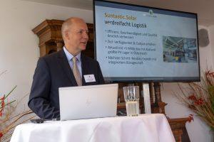 """""""Mit der Verdreifachung unserer Logistik-Kapazitäten haben wir nicht nur die Effizienz und Geschwindigkeit, sondern auch die Qualität unserer Logistik deutlich verbessert"""", betonte Markus König, Geschäftsführer von Suntastic.Solar."""
