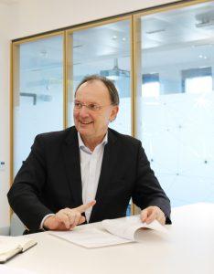 """Rexel Austria-CEO Robert Pfarrwaller: """"Während andere nun wieder aus dem Corona-Nebel auftauchen, waren wir nie weg."""""""