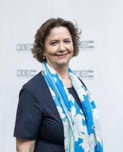 Wiedergewählte Obfrau der Bundessparte Gewerbe und Handwerk in der Wirtschaftskammer Österreich: Renate Scheichelbauer-Schuster.