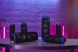 Sony neue Familie von Bluetooth-Lautsprechern mit Extra Bass.