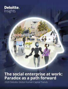 """Die neue Ausgabe der Deloitte """"Human Capital Trends"""" zeigt, wie wichtig das richtige Zusammenspiel von Mensch und Technologie für das Meistern zukünftiger Herausforderungen ist."""