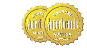 Auch dieses Jahr hat JURA wieder einen Superbrand-Award erhalten.