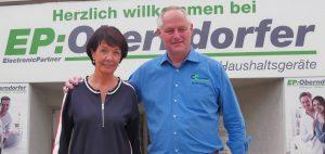 Ingrid und Max Oberndorfer ziehen sich nach 45 Jahren zurück. Sie such für die Handelssparte von EP:Oberndorfer einen Nachfolger.