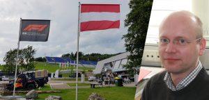 Gerhard Keller, Frequenzplaner der ORS, koordiniert sämtliche Funkfrequenzen während der zwei Formel 1 Grand Prix am Red Bull Ring in Spielberg.