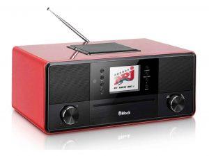 Das erfolgreiche SR-50 Smartradio gibt es jetzt in fünf verschiedenen Looks – u.a. in Rot und Walnuss-Optik.