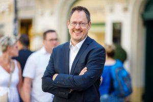 Rainer Trefelik, Obmann der Bundessparte Handel der Wirtschaftskammer Österreich.