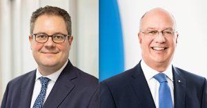 Links im Bild Patrick Döring. Rechts im Bild: Thomas Schröder (Fotos: Wertgarantie)