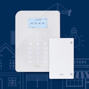 Mit dem ABUS Secvest Hybrid-Modul lassen sich die Vorteile von funk- und drahtgebundenen Alarmsystemen nutzen.
