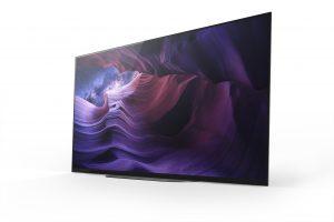 Viel Leistung für das kleinere Wohnzimmer: Der 48 Zoll 4K HDR OLED-Fernseher A9 aus der Sony Masters Series ist ab sofort vorbestellbar.