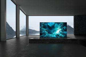 Der 8K HDR Full Array LED-Fernseher ZH8 gehört mit dem XH90 zu den beiden ersten Fernsehern, die laut Sony
