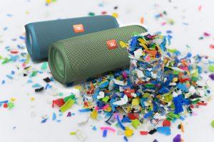 Ab sofort sorgt die limitierte Eco Edition des JBL Flip 5 für starken Sound.