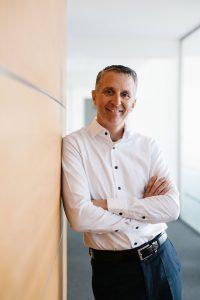 Marco Bühler ist geschäftsführender Gesellschafter der Beurer GmbH.Er leitet das Ulmer Familienunternehmen in 4. Generation. (Fotos: Beurer)
