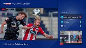 """Die Highlights der Deutschen Bundesliga lassen sich jederzeit schon während des Spiels mit dem neuen """"Was hab' ich verpasst?""""-Feature abrufen."""