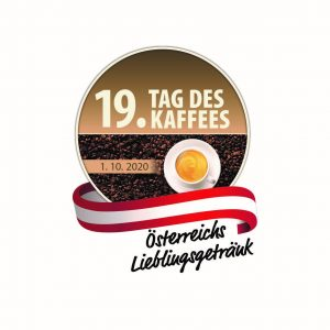 "Am 1. Oktober 2020 findet der ""19. Tag des Kaffees"" statt."