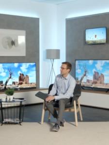 Anstelle eines IFA-Auftritts setzt Metz heuer auf die virtuelle Präsentation der Neuheiten im Metz Showroom.