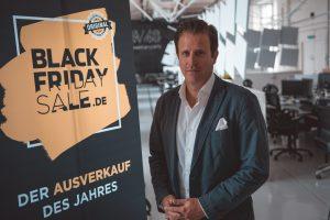 Der erste Summer Black Friday Sale sei ein großer Erfolg, wie Konrad Kreid, Geschäftsführer der Black Friday GmbH, bereits einen Tag vor Schluss der Rabattschlacht informiert. (Bild: Black Friday GmbH)