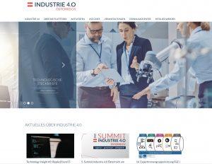 Industrie 4.0 Österreich – die Plattform für intelligente Produktion – hat den Web-Auftritt überarbeitet und neue Features hinzugefügt.