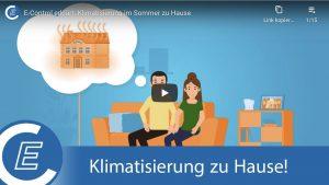 Der aktuellste Videoclip beleuchtet Möglichkeiten der Klimatisierung von Wohnungen im Sommer – auch ohne Klimaanlage.