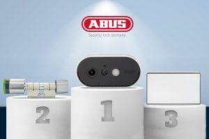 Bei den diesjährigen PROTECTOR Awards gab es gleich drei Auszeichnungen für ABUS.